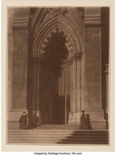 William Gordon Shields, 'St. Patrick's Cathedral', 1916