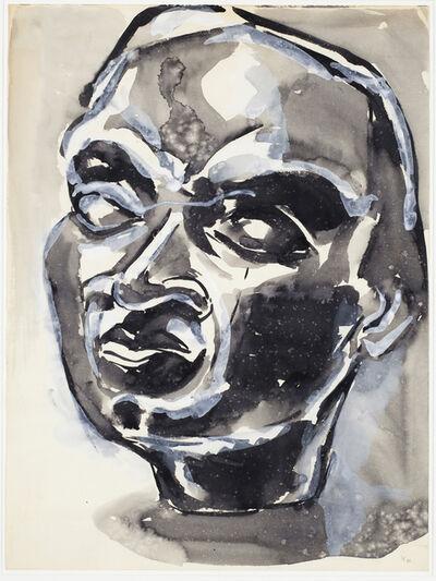 Luis Frangella, 'Cabeza de Hombre (Head of Man)', 1986