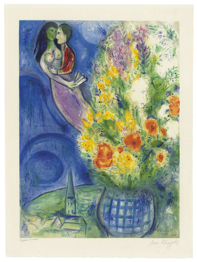 Charles Sorlier after Marc Chagall, 'Les coquelicots', 1949