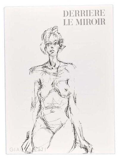 Alberto Giacometti, 'Derrière Le Miroir', 1961