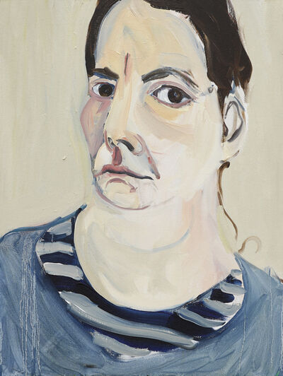 Chantal Joffe, 'Self-Portrait III, January', 2018