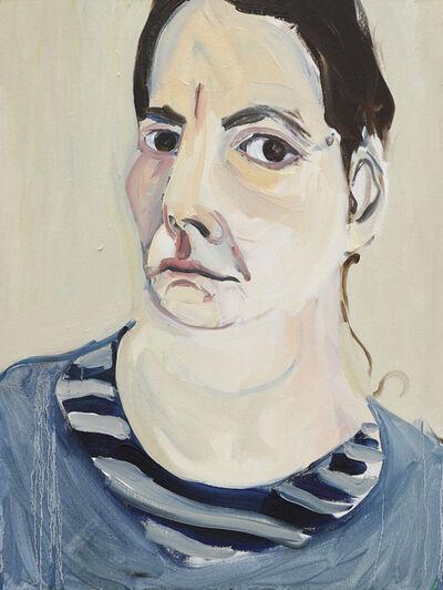 Chantal Joffe, 'Self-Portrait III, January', 2018