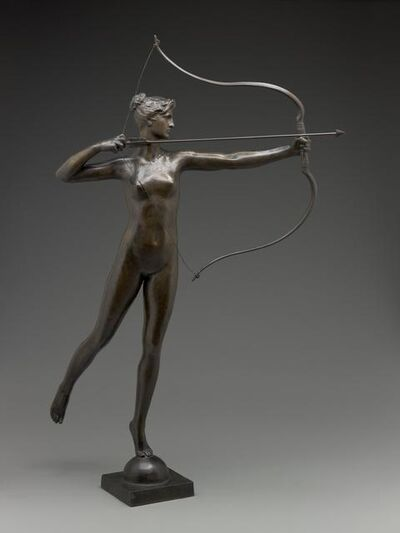 Augustus Saint-Gaudens, 'Diana', modeled about 1895-cast 1905