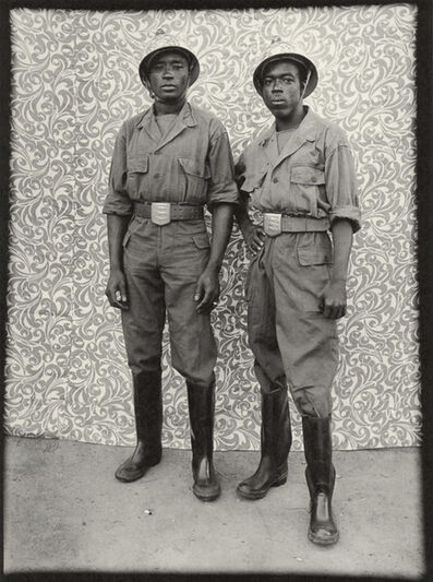 Seydou Keïta, 'Untitled (Two Firemen with Large Belt Buckles, 1952-55)', 1997