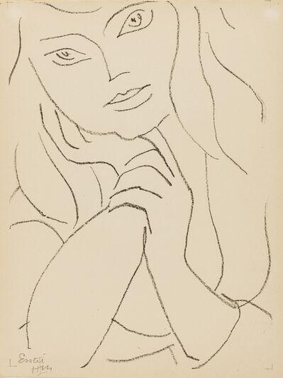Henri Matisse, 'Femme Assise, la Main sur le Menton (See Duthuit Books 11 p.79)', circa 1946
