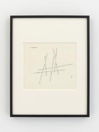 Dom Sylvester Houédard, 'prayersticks', 1969