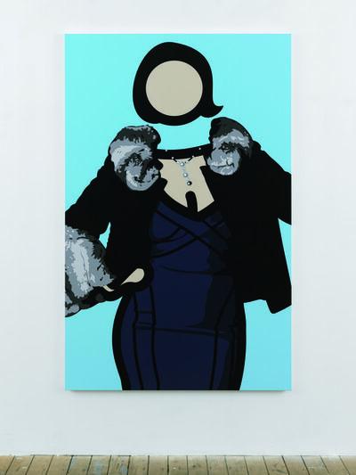 Julian Opie, 'Maria 5', 2011