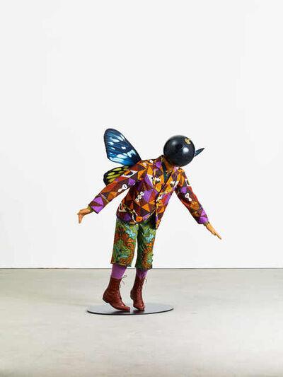 Yinka Shonibare CBE, 'Butterfly Kid (Boy) III', 2018