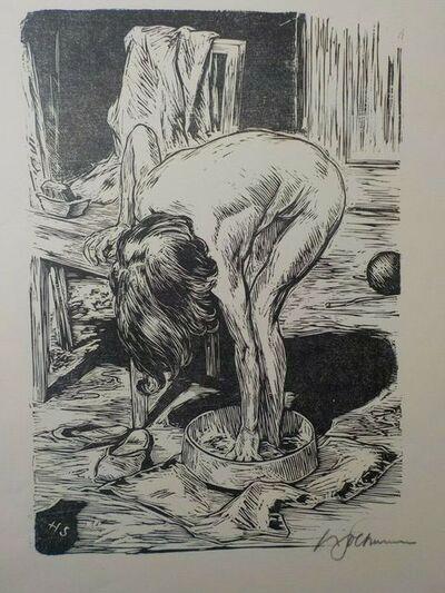 Hans Soltmann, 'Mädchenakt', 1928