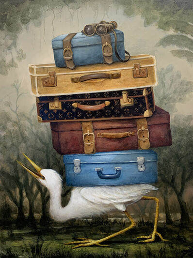 Kevin Sloan, 'Audubon in Louisiana', 2019