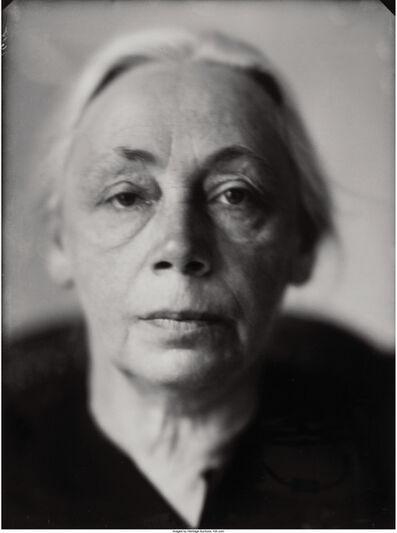Lotte Jacobi, 'Käthe Kollwitz', circa 1930
