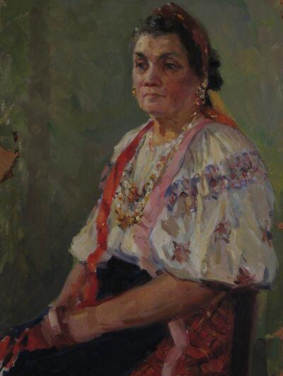 Aleksey Dmitrievich Potapov, 'Ukrainian woman', 1961
