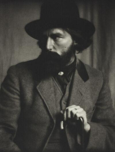 Alvin Langdon Coburn, 'Augustus John', ca. 1914