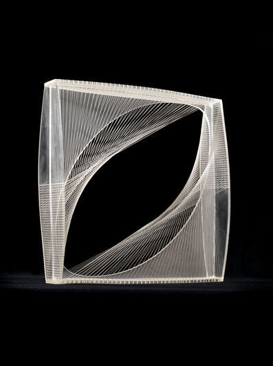 Naum Gabo, 'Linear Construction in Space No.1', ca. 1950