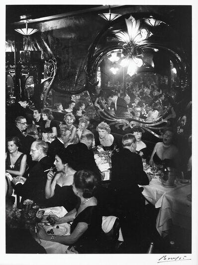 Brassaï, 'Soirée à Maxime', 1973