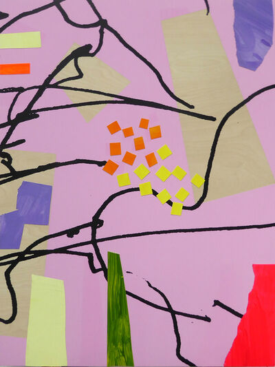 Bruce McLean, 'Future Garden 5', 2020