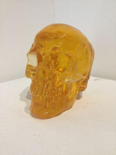 Sam Tufnell, 'Sam Tufnell, Orange Skull ', 2018