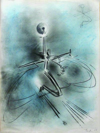 """Renzo Bergamo, 'Astral Trip (""""Viaggio astrale"""")', 1968"""