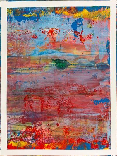 Bernd Haussmann, '2468 Red, Green, Yellow, Blue', 2015