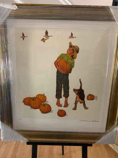 Norman Rockwell, 'Autumn Harvest', 1963