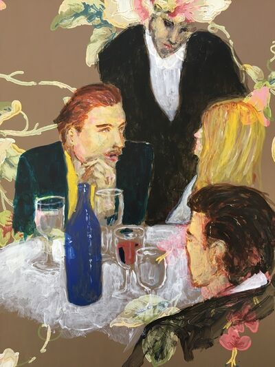 manuel santelices, 'The Party (Brown)', 2019