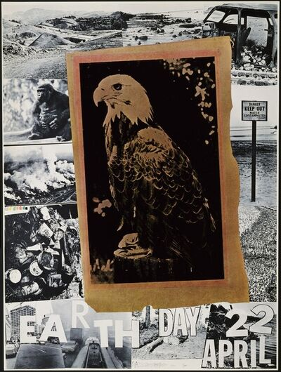 Robert Rauschenberg, 'Earth Day', 1970