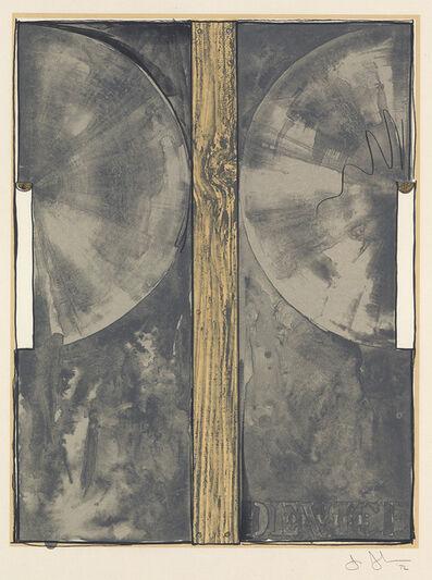Jasper Johns, 'Device', 1971-72