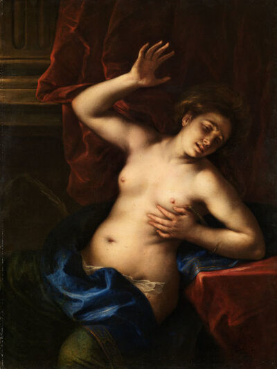 Francesco del Cairo, 'Death of Cleopatra ', 1645-1650
