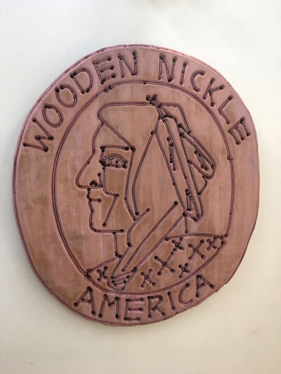 America Martin, 'Wooden Nickel', 2019