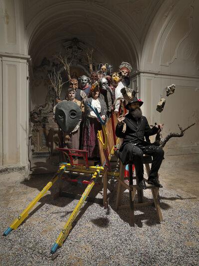 Luigi Presicce, 'Santo Stefano, i coriandoli, le pietre', 2015
