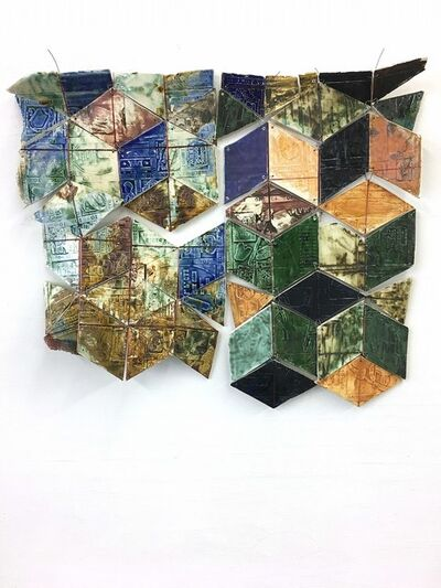 Rachel Hubbard Kline, 'Eroded Tumbling Blocks', 2018