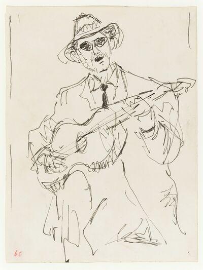 John Craxton, 'The Guitarist', 1960