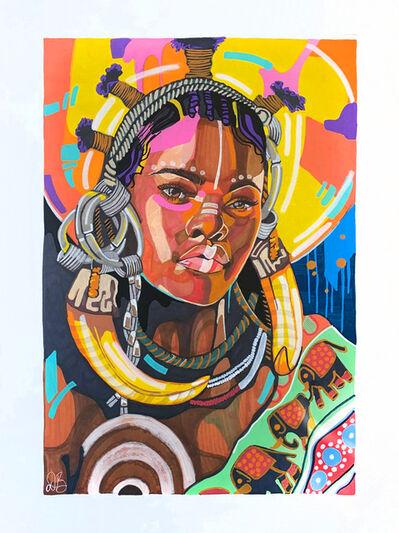 Domonique Brown, 'Queen Is Black', 2020