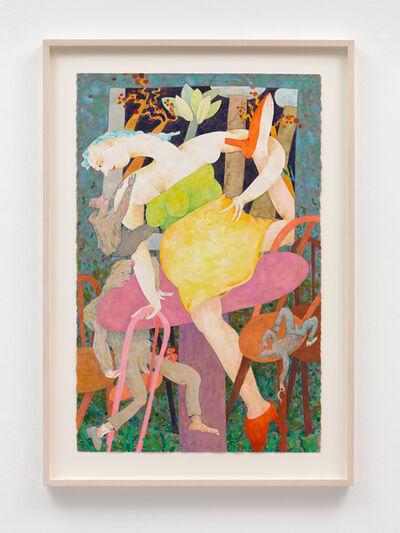 Gladys Nilsson, 'A Table', 2014