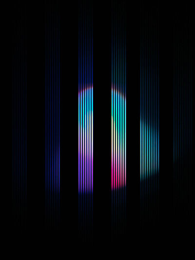 Hideo Anze, 'Stripe(50Hz)  2015:05:16 13:19:55 aoba-ku', 2015