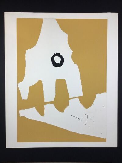 "Robert Motherwell, 'Untitled from portfolio ""Ten Works by Ten Painters""', 1964"