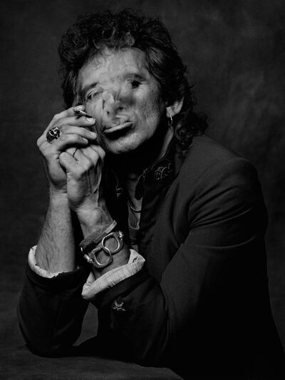 Albert Watson, 'Keith Richards', 1988
