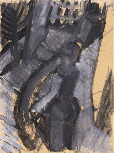 Mario Sironi, 'Figura sul Balcone', 1918