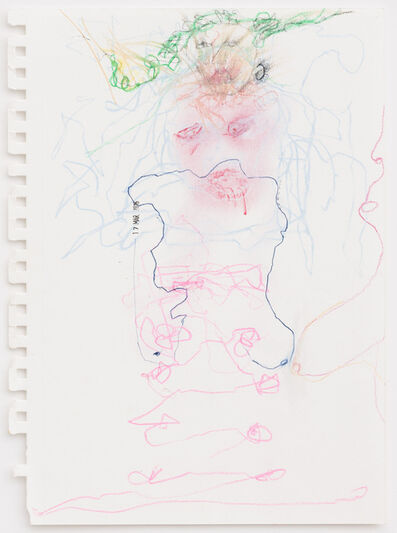 Pélagie Gbaguidi, 'Naked Writing', 2016
