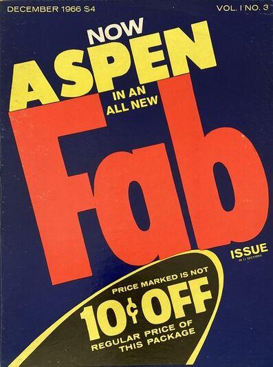 Andy Warhol, 'Andy Warhol Fab! Aspen 1966 (Andy Warhol Aspen Fab)', 1966