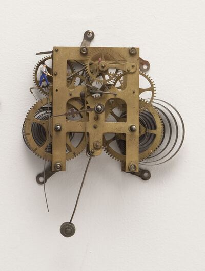 Liliana Porter, 'To Fix It (Wall Clock III)', 2018