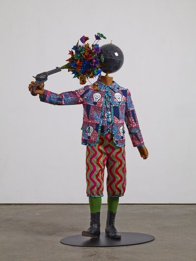 Yinka Shonibare CBE, 'Flower Power Kid (Suicide)', 2013
