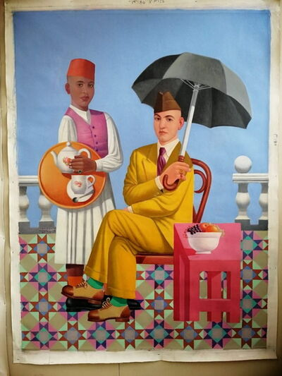 Faisel Laibi Sahi, 'The Master & Servant', 2016
