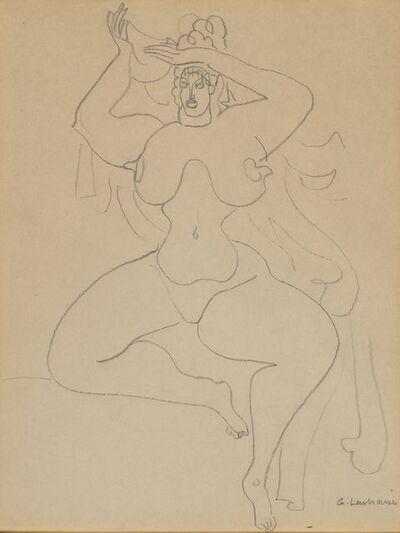 Gaston Lachaise, 'Woman Undressing'