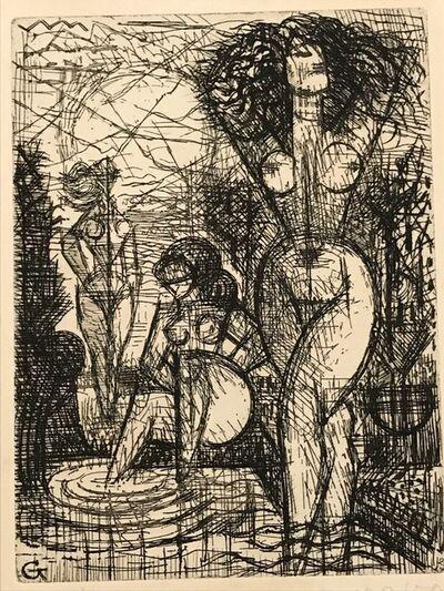 Marcel Gromaire, 'Les Trois Baigneuses', 1930s