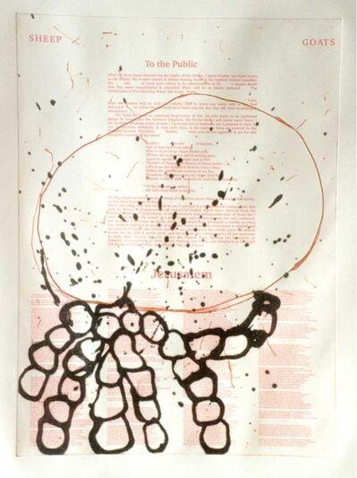 Ian McKeever, 'Jerusalem No. 4', 2001