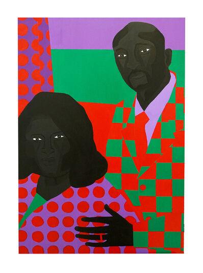 Jon Key, 'Family Portrait No. 5 (Linda + Ken)', 2020