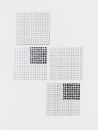 Jennifer Losch Bartlett, 'Double Step #1', 1974