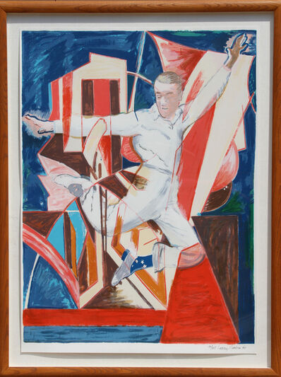Larry Rivers, 'Astaire in the Air', 1990