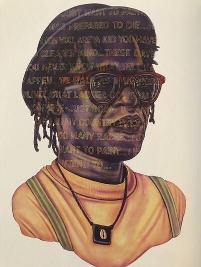Grace Graupe-Pillard, 'Word Portrait: In Carl's Words', 1992